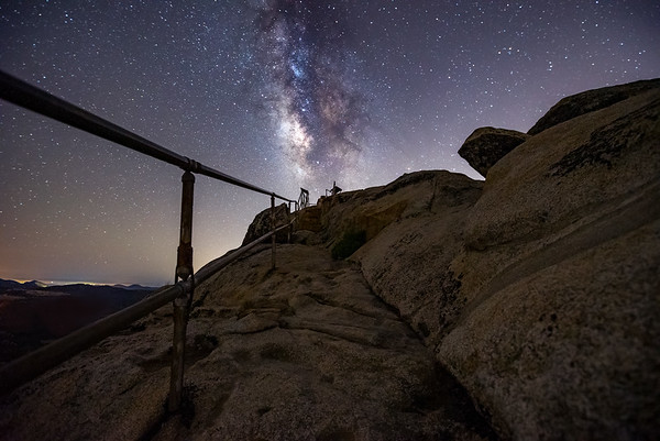 Stone Wall Peak Milky Way