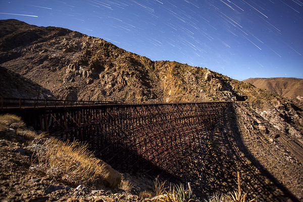 Goat Canyon Trestle Star Trail