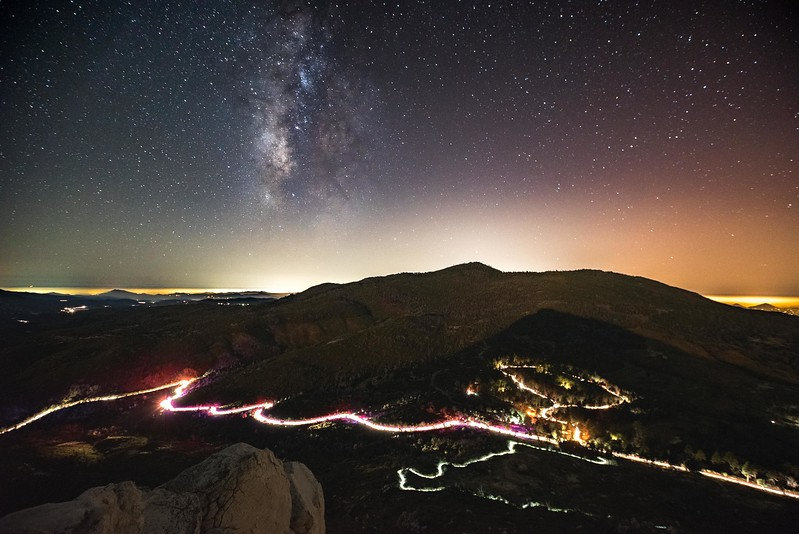 Milky Way Over Cuyamaca Peak