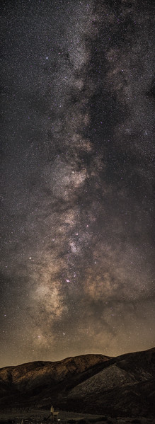 Vertical Milky Way Panorama
