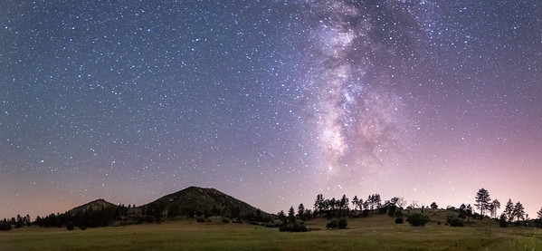 Stonewall Peak Milky Way Panorama