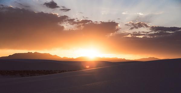 White Sands National Monument Sunset