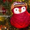 Christmas Bird - red