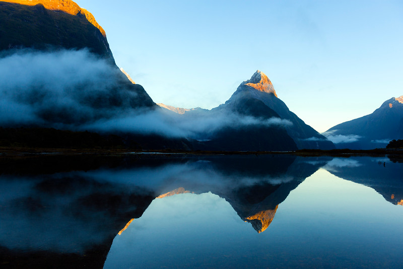 Milford Sound sunrise, New Zealand