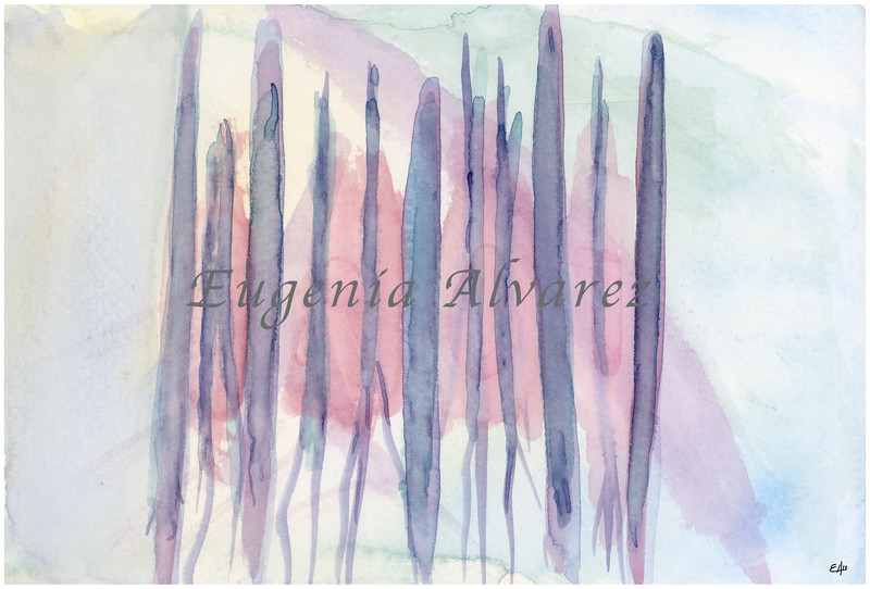 Pastel Abstract. Watercolor Painting Fine Art Print Abstract Art Print from Watercolor Painting Wall Art