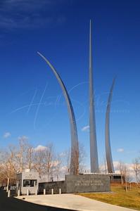 United States Air Force Memorial, Arlington, Virginia, USA