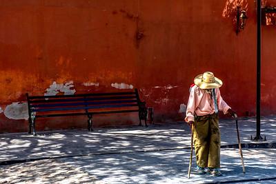 Viejito camindando, San Miguel de Allende