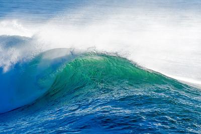 Majestic Steamer Lane Wave