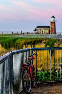 Light House Red Bike