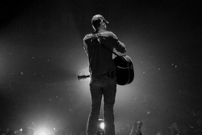 Eric Church Silhouette - Denver 2015