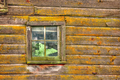 Worn & Weathered Window