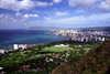 Hawaii - Waikiki Coast, view from Diamond Head 2