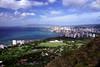 Hawaii - Waikiki Coast, view from Diamond Head 2