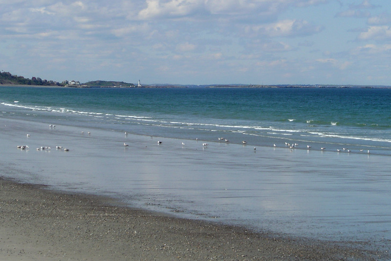 Boston - Nantasket Beach, Coastline