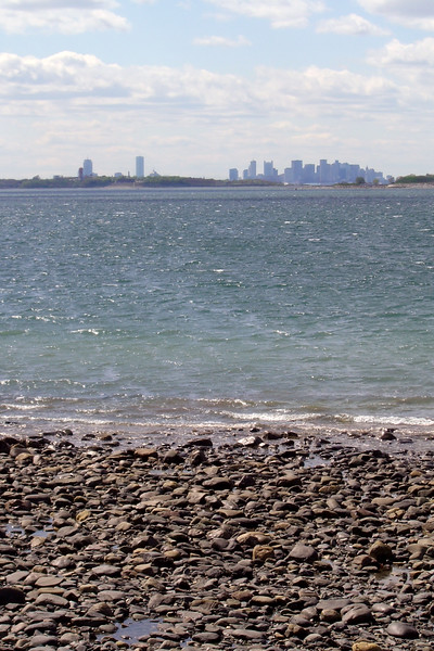 Boston - Nantasket Beach, View of Boston
