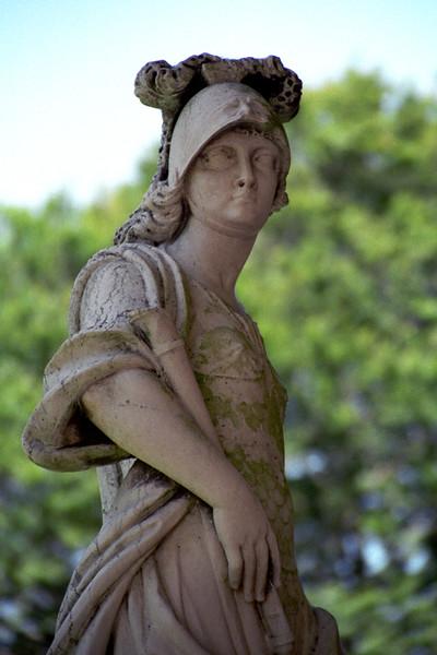 Newport, RI - Statue of Woman