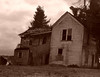 Portland, OR - Crooked House 2 - Sepia