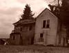 Portland, OR - Crooked House 2 - Sepia