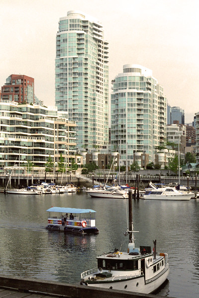 Vancouver, B C  - Cityscape Vertical