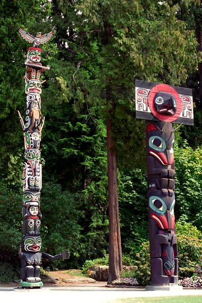 Vancouver, B C  - Totem 3