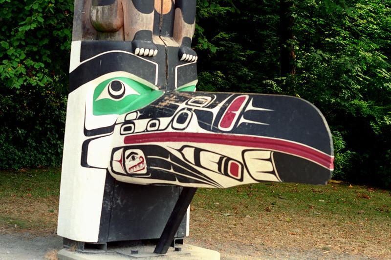 Vancouver, B.C. - Raven Totem