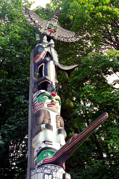Vancouver, B C  - Totem 4