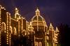 Victoria, B C  - Parliament at Night 2