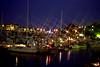 Victoria, B C  - Boat Yard at Night
