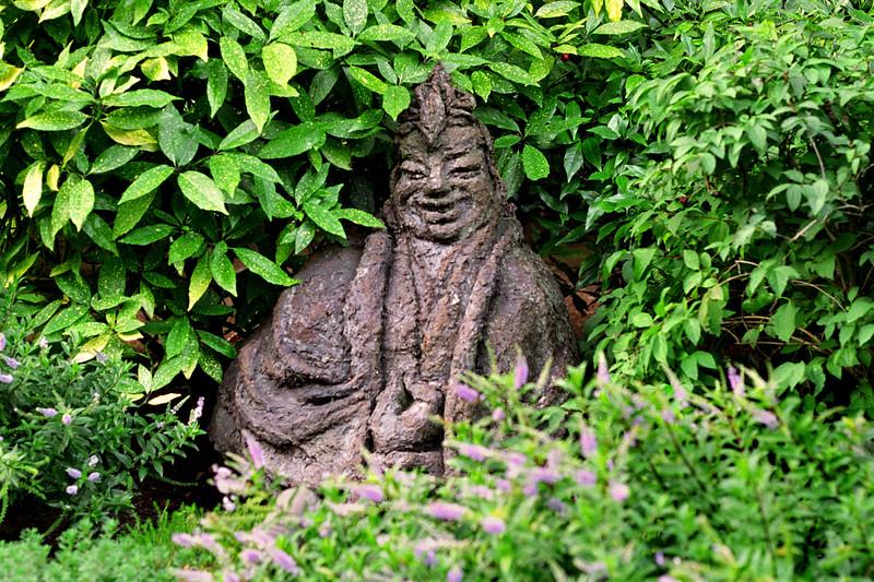 Victoria, B C  - Japanese Statue