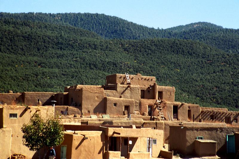 New Mexico - Taos - Adobe Building 1