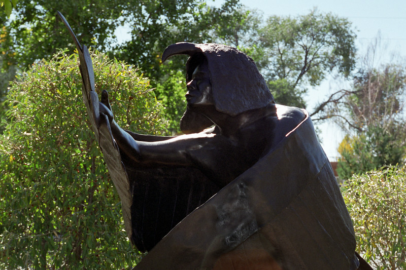 New Mexico - Santa Fe - Statue 2