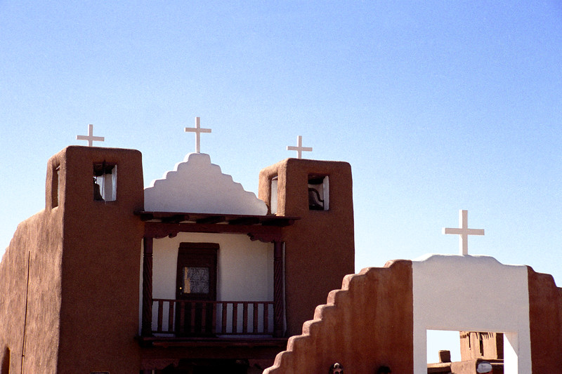 New Mexico - Taos - Church