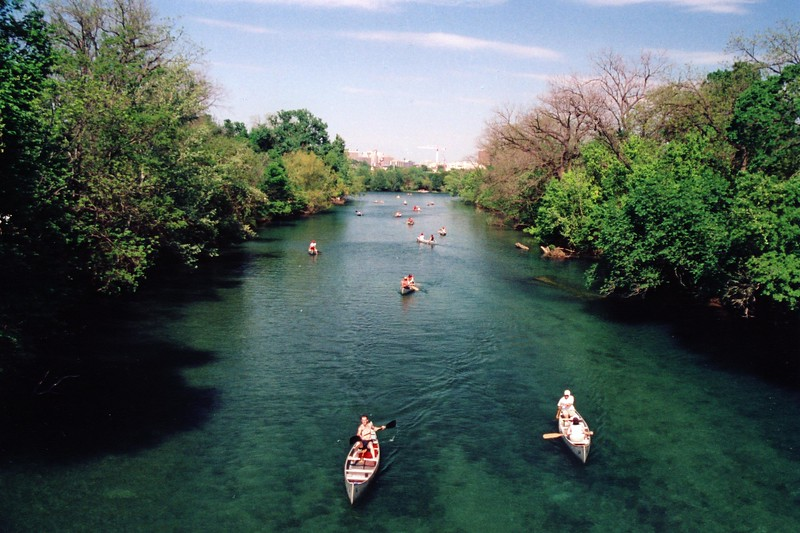 Texas - Austin - Town Lake Canoes