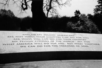 Washington, D C  - JFK Speech