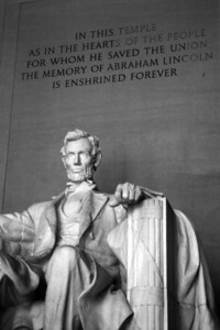 Washington, D C  - Abraham Lincoln