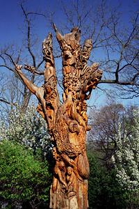 Washington, D C  - National Zoo Sculpture