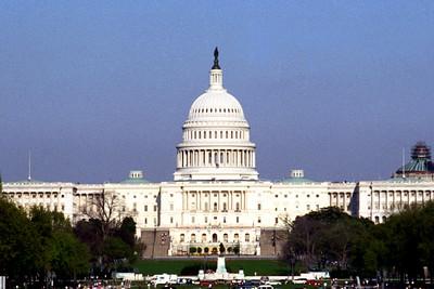 Washington, D C  - U S  Capitol Building