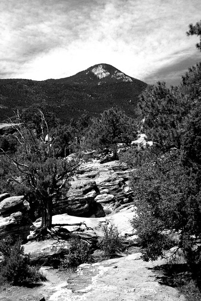 Colorado - Garden of the Gods bw