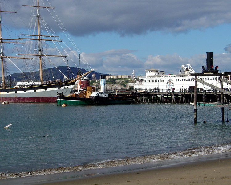 California - San Francisco Pier, Alcatraz