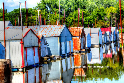 Boathouses Red Wing1