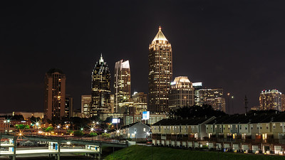 Atlanta from Atlantic Station