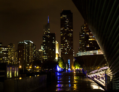 Photo of Downtown Chicago from the Navy Pier