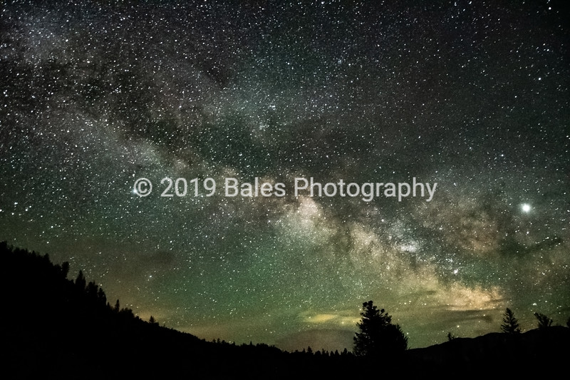 Milky Way in Southern Montana
