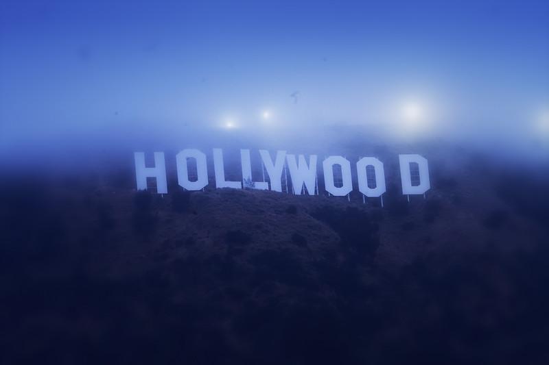 """Foggy Hollywood"""