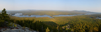 Moxie Pond from Mosquito Mountain