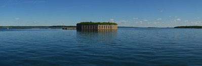 Fort Gorges, Casco Bay
