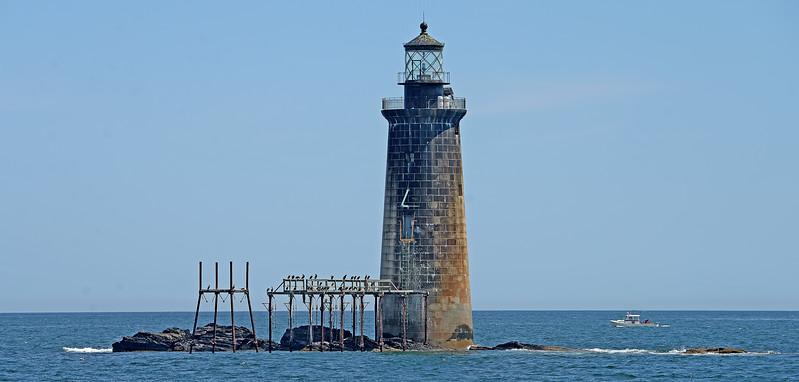 Rams Isle ledge lighthouse