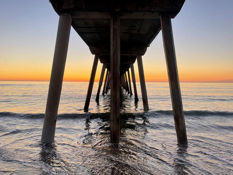 """""""Under the Hermosa Pier"""""""