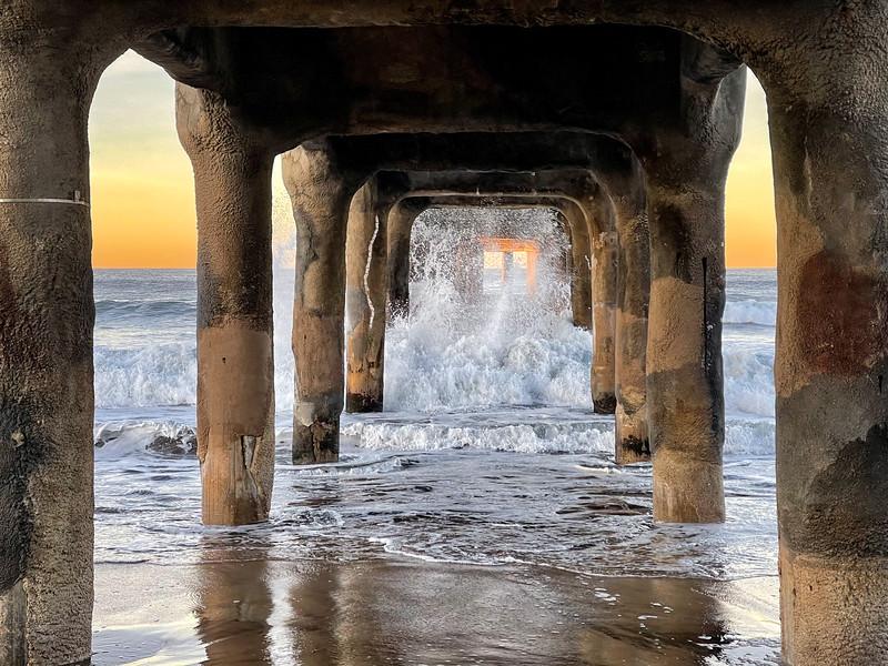 """""""Splashing under the Pier"""""""