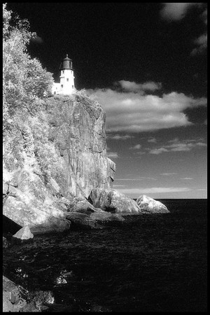 Split Rock Lighthouse - Lake Superior - 1976